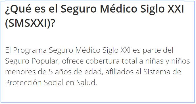 Seguro Médico Siglo XXI