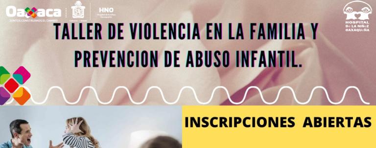 Taller de violencia en la familia